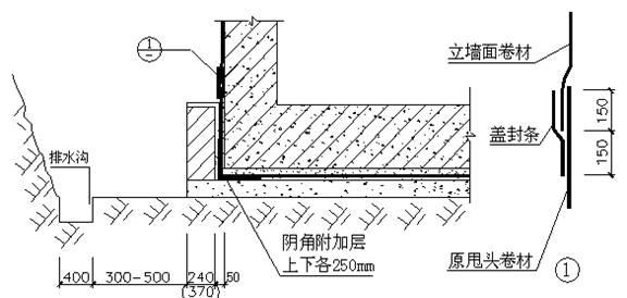 楼地下室防水方案