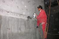 新疆地下车库侧墙漏水治理案例