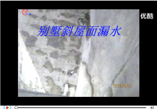 别墅斜屋面渗漏的治理