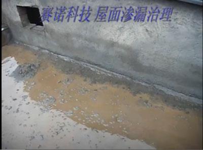 屋面漏水的治理