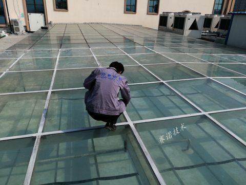 荥阳玻璃房屋面渗漏水综合治理案例