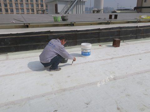荥阳广场砖屋面漏水治理案例