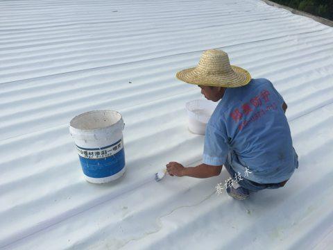 中山彩钢瓦屋面防水防腐用赛诺PAWM卷材整体处理案例